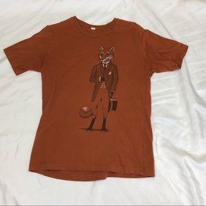 Alternative, Dapper fox Men's tee shirt